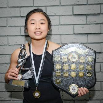 2016 Reserves Best and Fairest winner, Olivia Aing